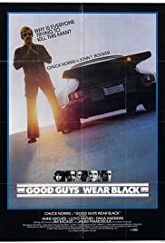 Good Guys Wear Black Poster