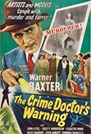 The Crime Doctor's Warning(1945) Poster - Movie Forum, Cast, Reviews