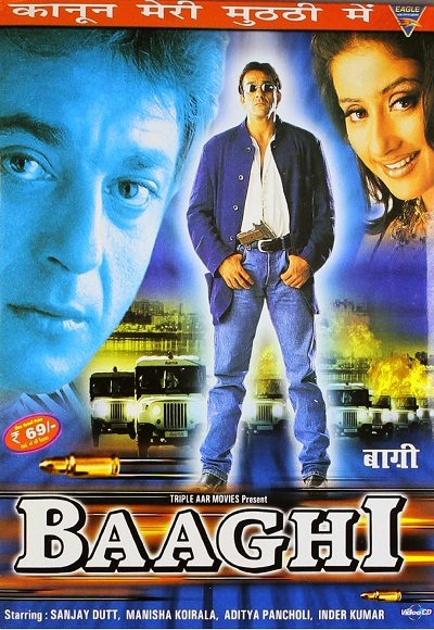 Baaghi (2000) Hindi DVDRip 700mb x264 Full Movie