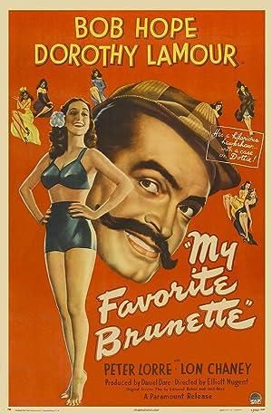 My Favorite Brunette poster