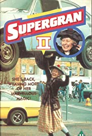 Supergran Grounded Poster