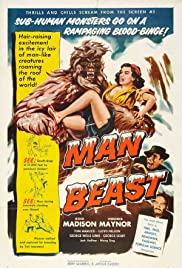 Man Beast(1956) Poster - Movie Forum, Cast, Reviews