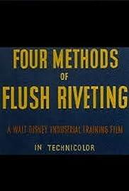 Four Methods of Flush Riveting Poster