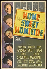 Home, Sweet Homicide Poster