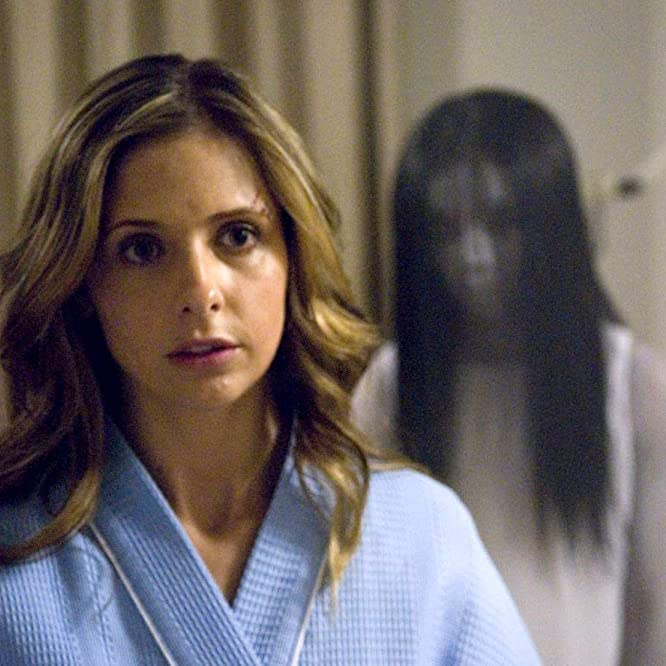Sarah Michelle Gellar and Takako Fuji in The Grudge 2 (2006)
