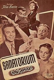 Sanatorium total verrückt Poster