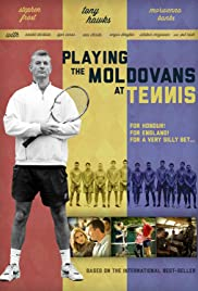 Playing the Moldovans at Tennis Poster
