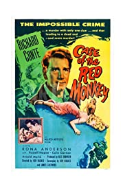 The Case of the Red Monkey Poster