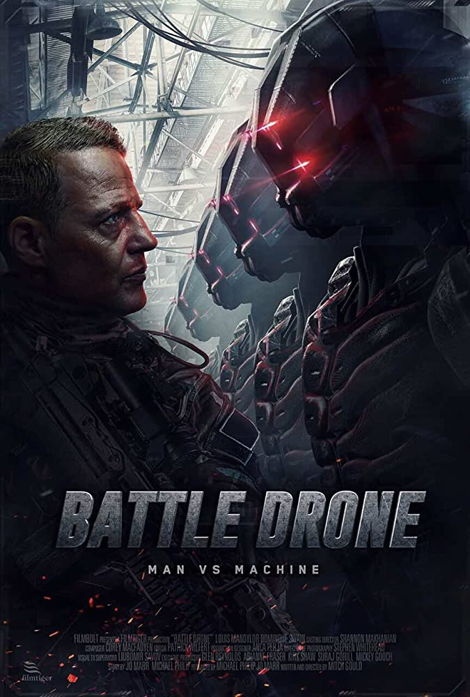 Hasil gambar untuk Battle Drone (2018)