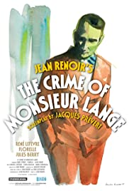The Crime of Monsieur Lange Poster