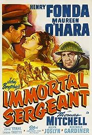 Immortal Sergeant Poster