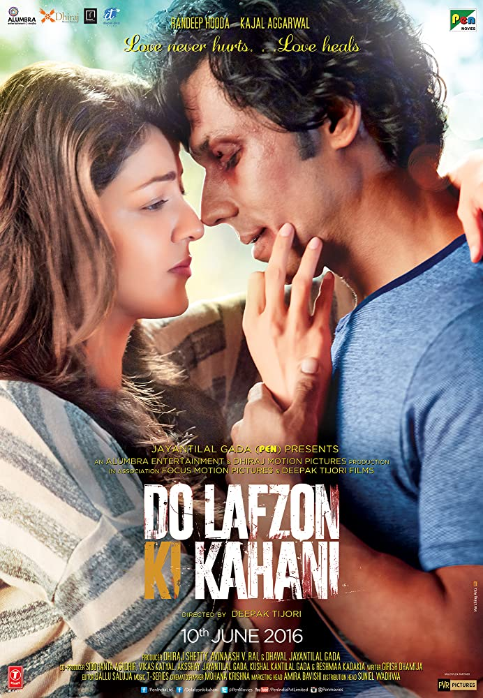 Poster Of Do Lafzon Ki Kahani Full Movie Download 300MB In Hindi English Dual Audio 720P Compressed Small Size Pc Movie at movies365.in