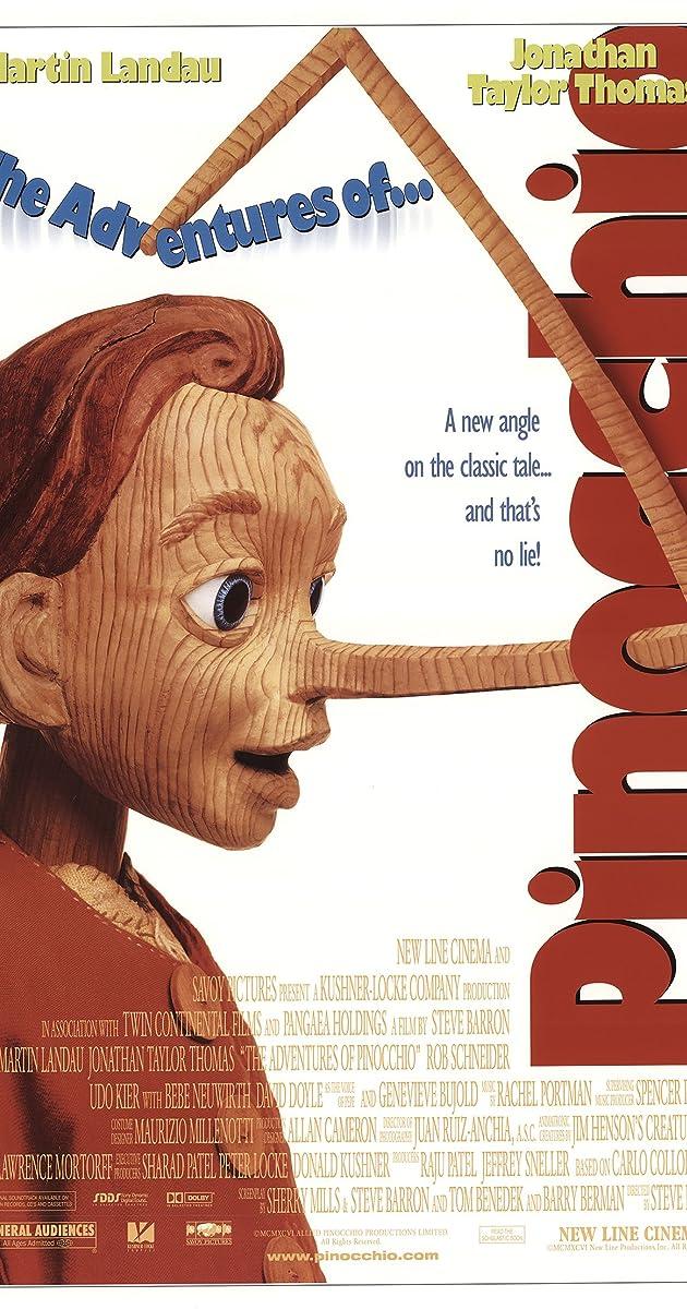 the adventures of pinocchio 1996 imdb