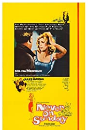 Never on Sunday(1960) Poster - Movie Forum, Cast, Reviews