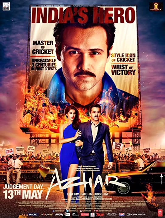 Emraan Hashmi and Nargis Fakhri in Azhar (2016) Bollywood full Movie Watch Online Download at www.movile365.in