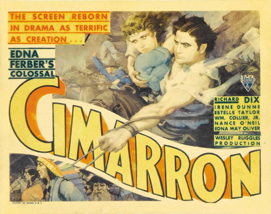 Image result for Cimarron (1931)