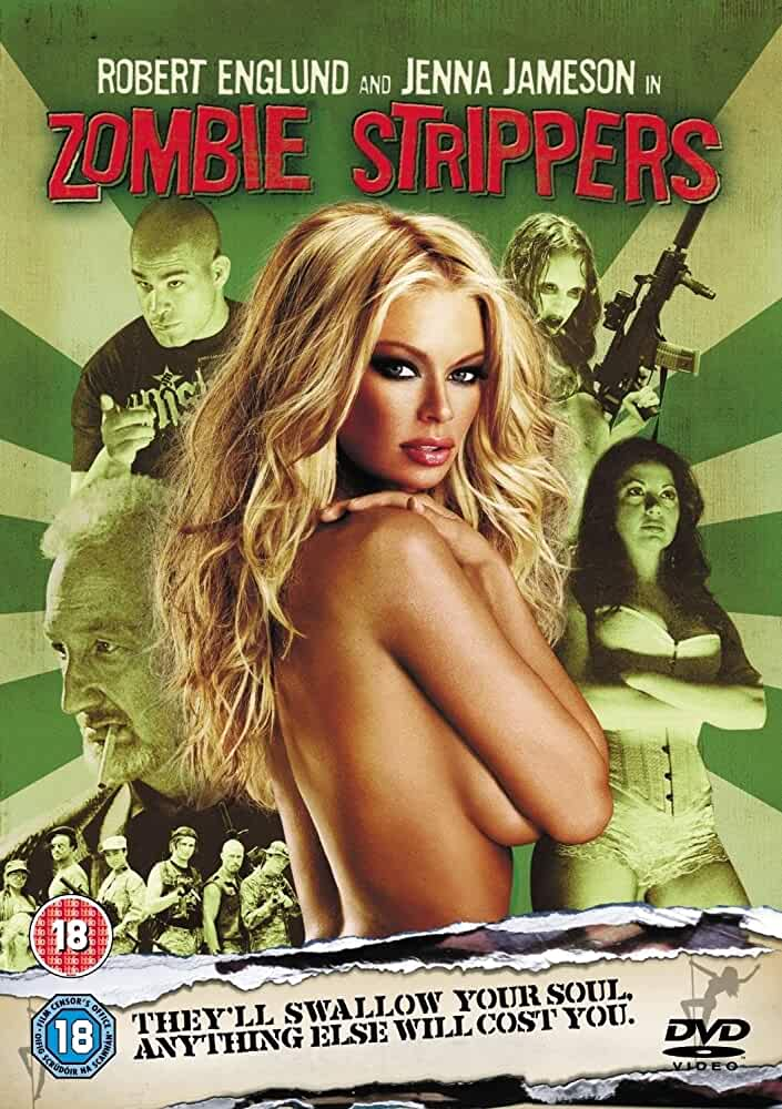 18+ Zombie Strippers 2008 Hindi Subbed 480p BRRip 250MB English x264