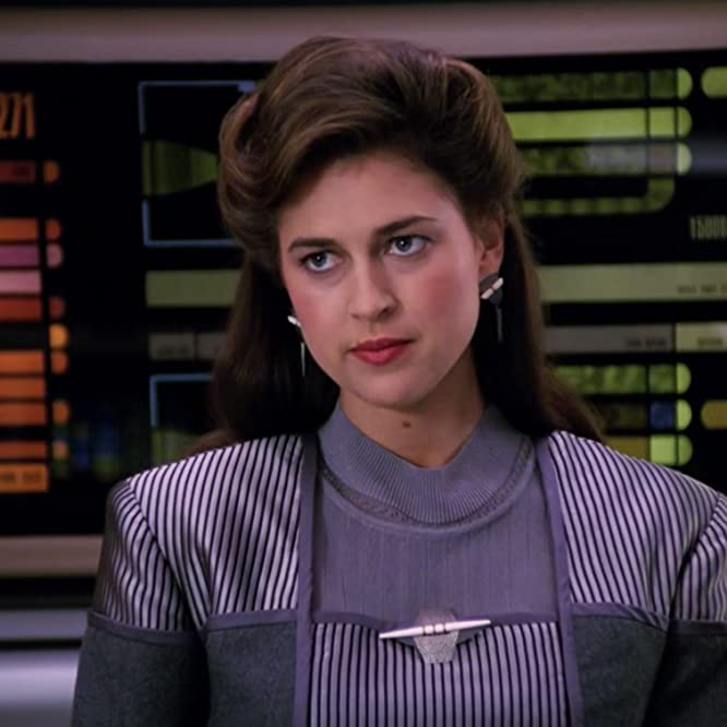 Susan Gibney in Star Trek: The Next Generation (1987)