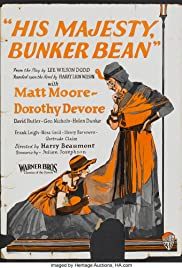 His Majesty, Bunker Bean Poster