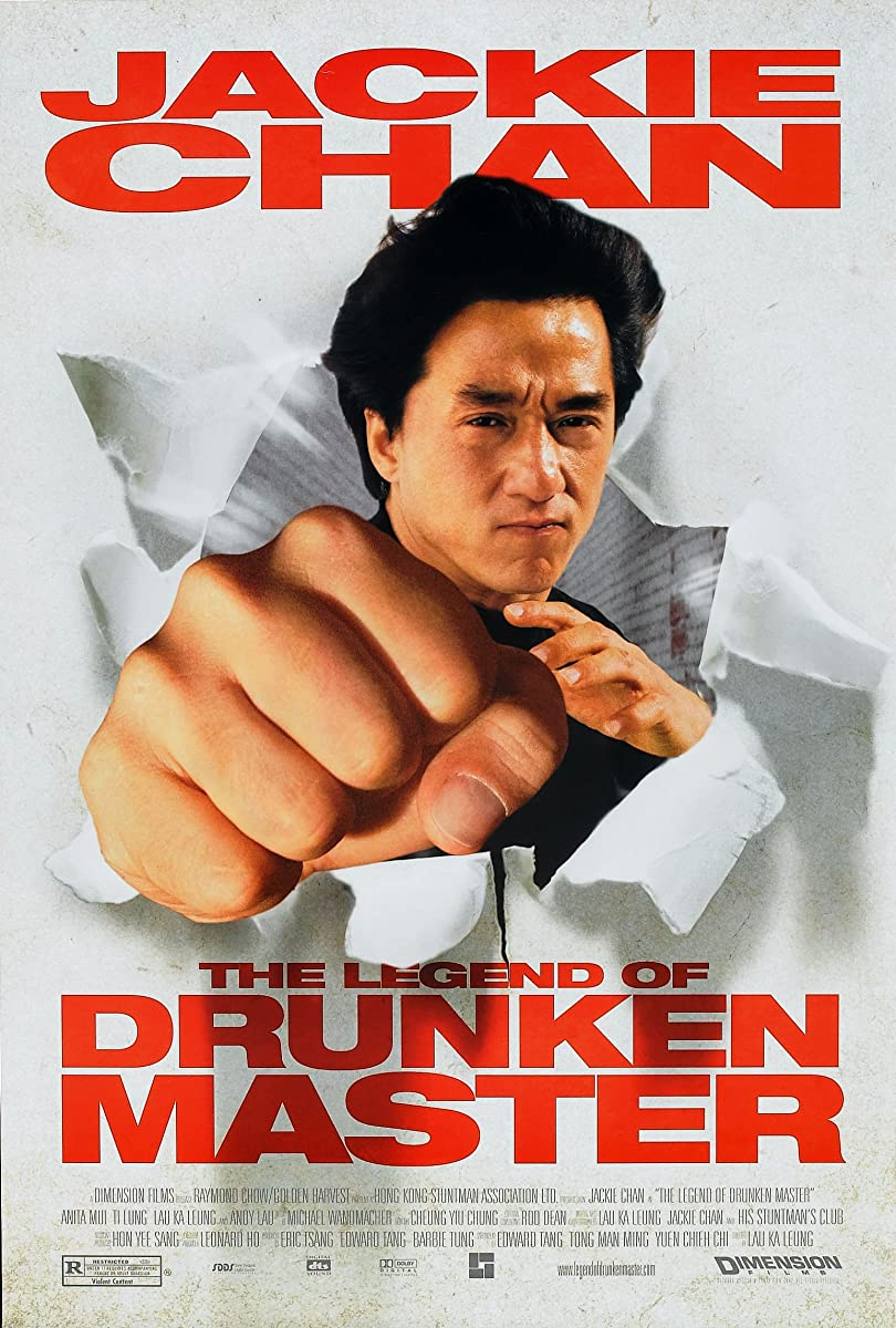 Girtas meistras 2 / The Legend of Drunken Master (1994)