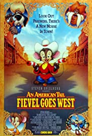 An American Tail: Fievel Goes West Poster