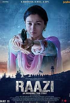 Alia Bhatt in Raazi (2018)