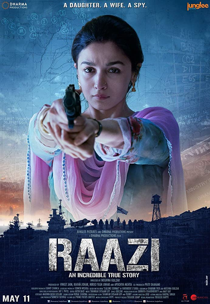 Raazi 2018 Movie Official Trailer