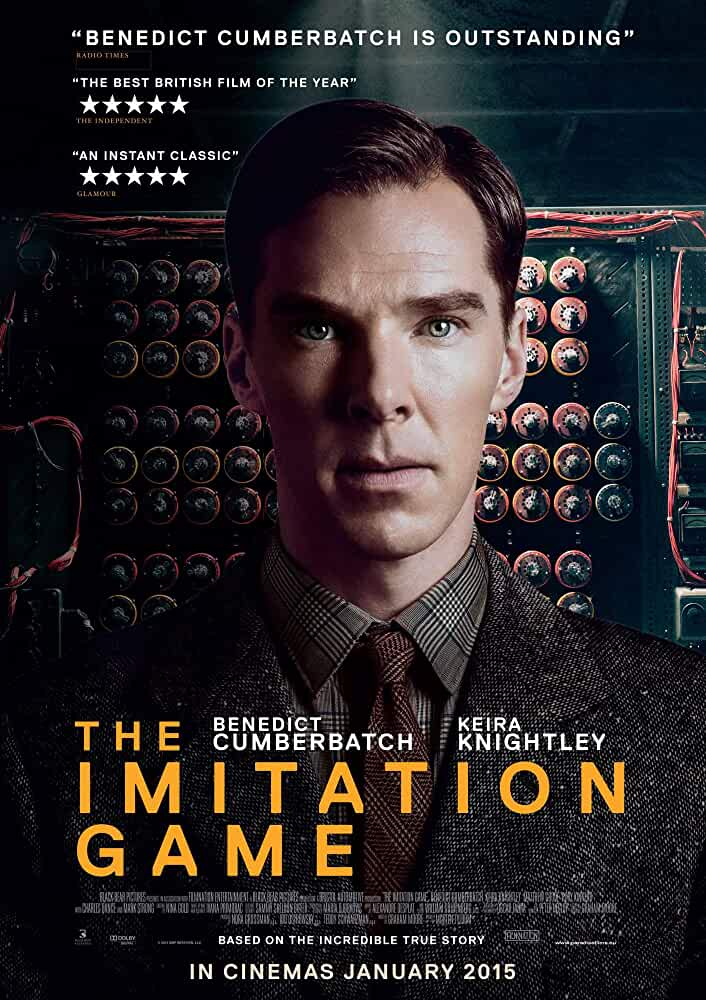 The Imitation Game 2014 Full Movie 720p BluRay Dual Audio ESub